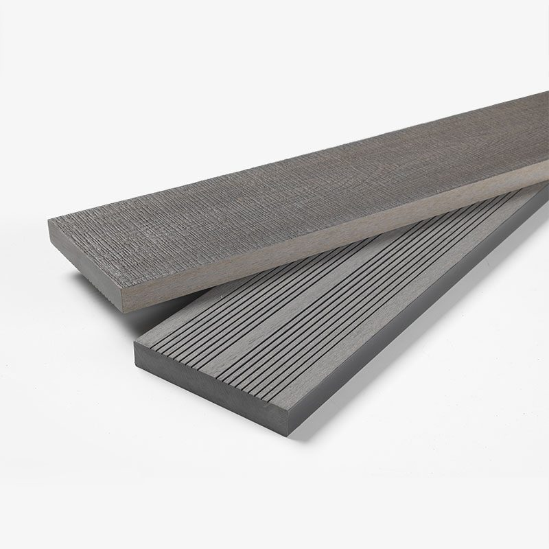 Solid Composite Decking Grey