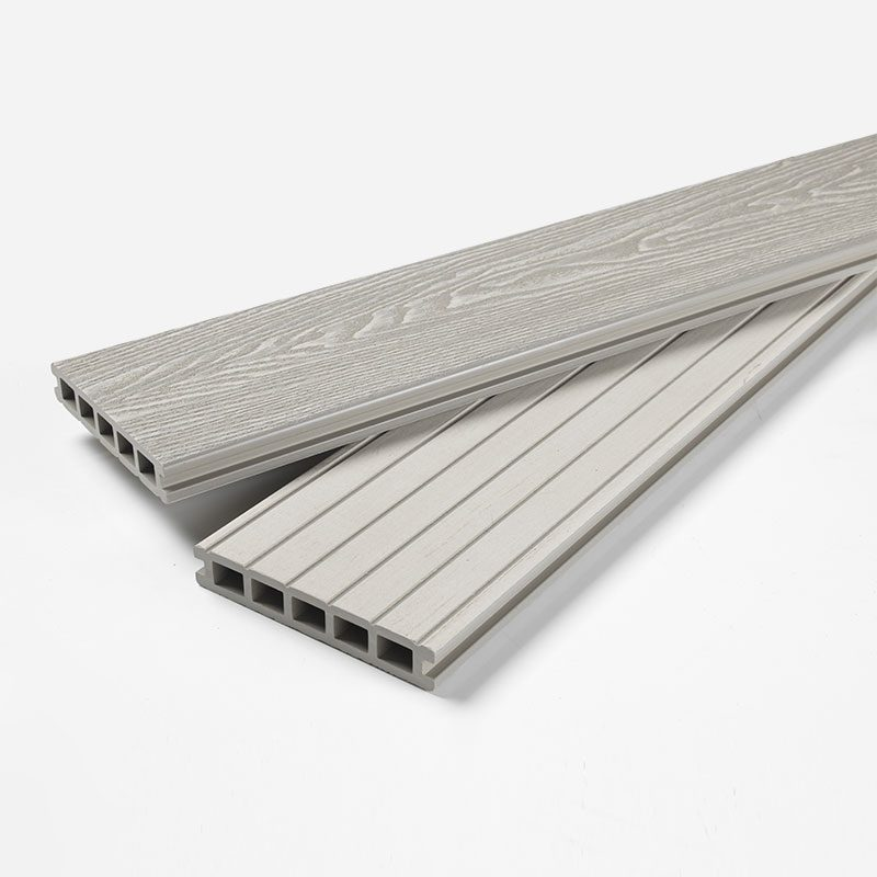 Ash White Composite Decking