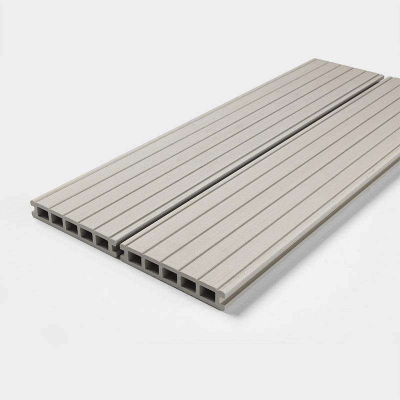 Ash white decking