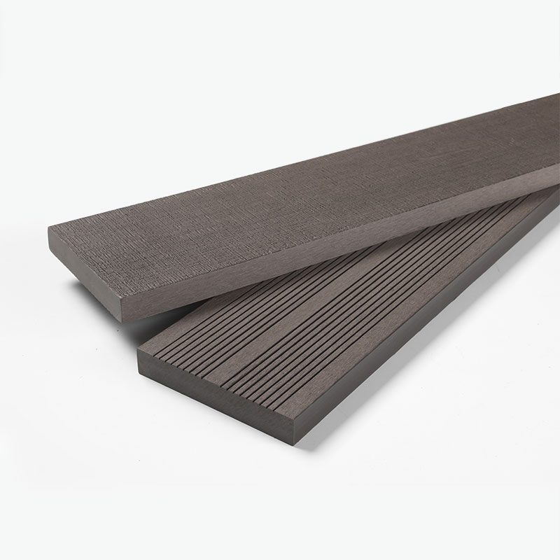 Solid Composite Decking Brown