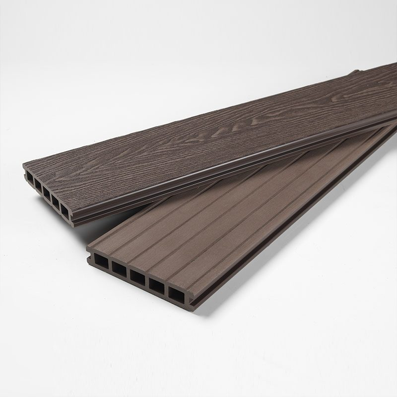 Brown Deep Embossed Composite Decking