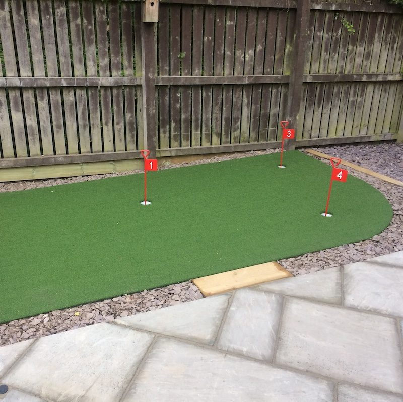 Pro putt putting green artificial grass