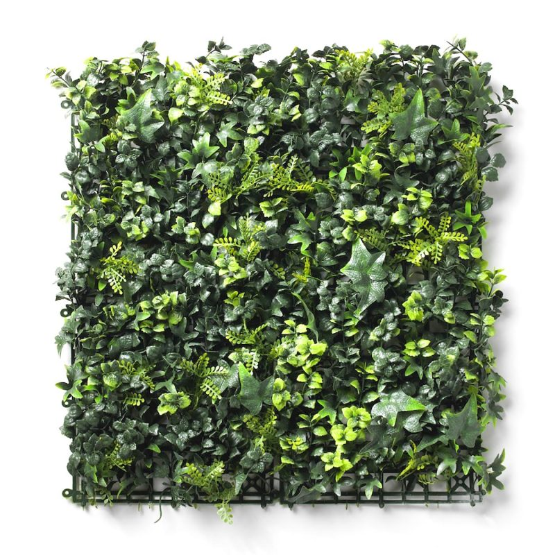 Amazon artificial hedge tile flat view