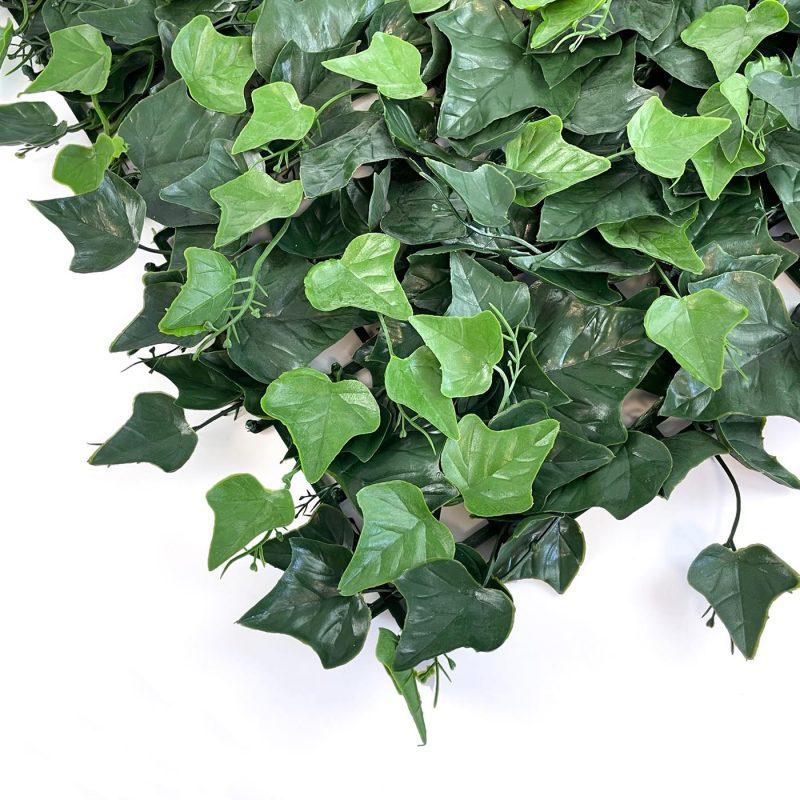 Ivy artificial hedging tile close up image