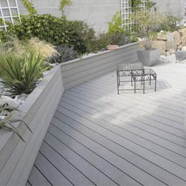 on trend composite decking