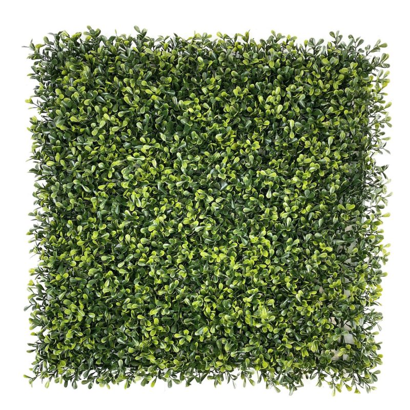 Topiary artificial hedge tile full tile
