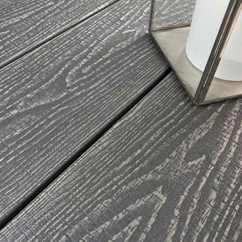 Silver ash composite decking boards
