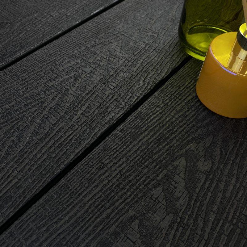 Ignite black composite decking boards