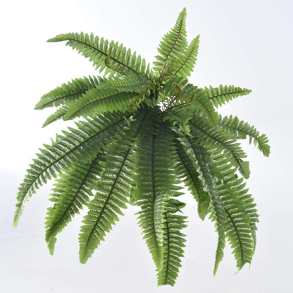 Artificial foliage for living wall and flower arrangements.