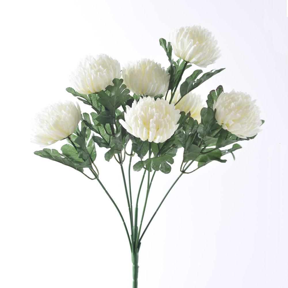 artificial Charysanthemum White bouquet
