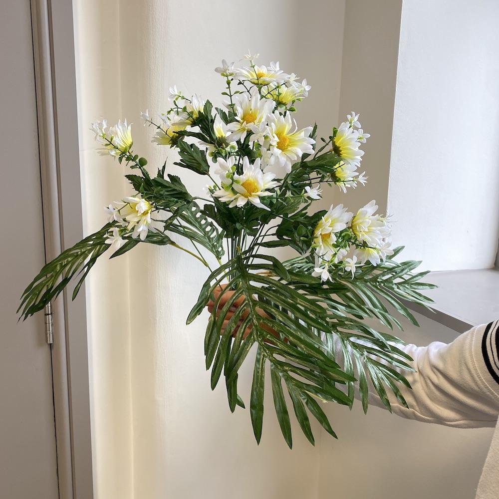 artificial daisy mix