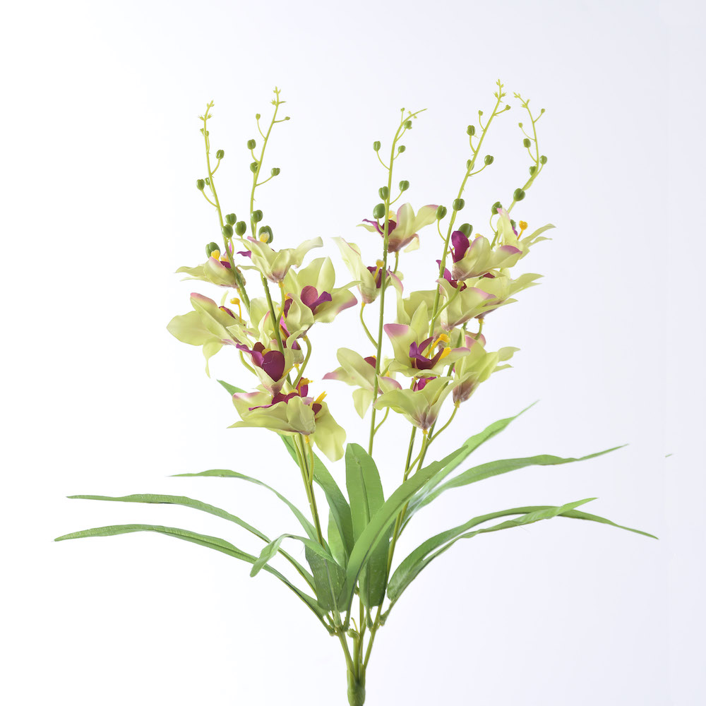 artificial orchid bunch