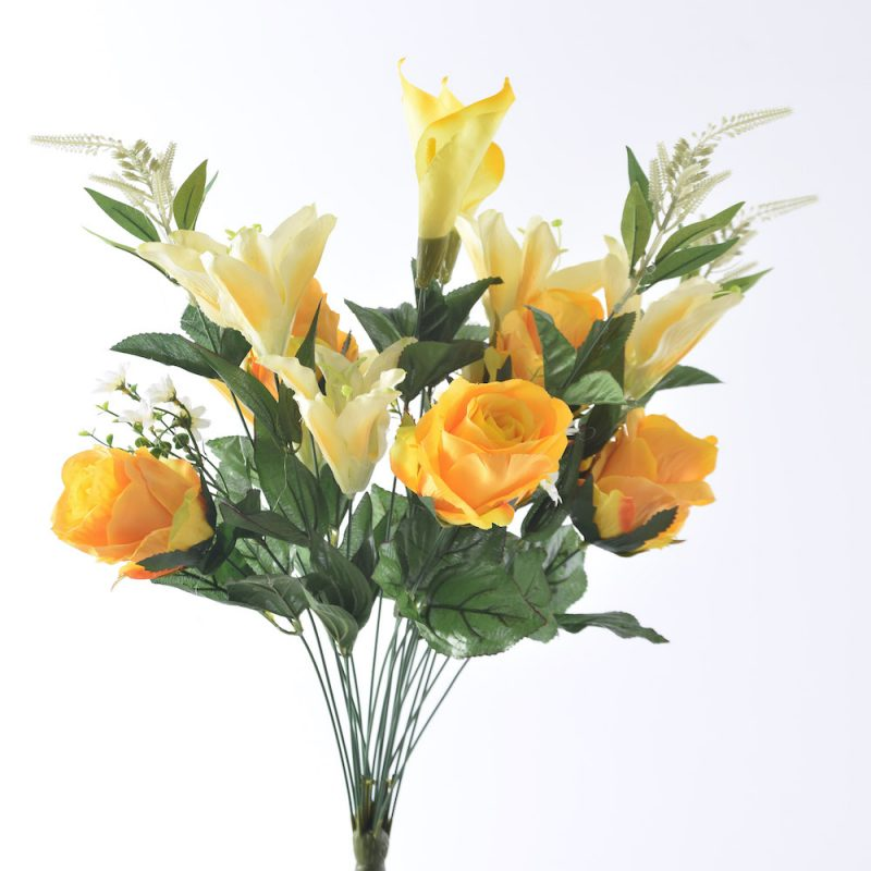 artificial Rose Lily Mix