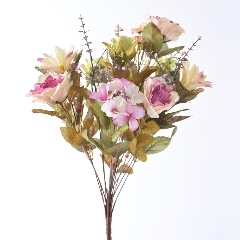 artificial wild rose mix
