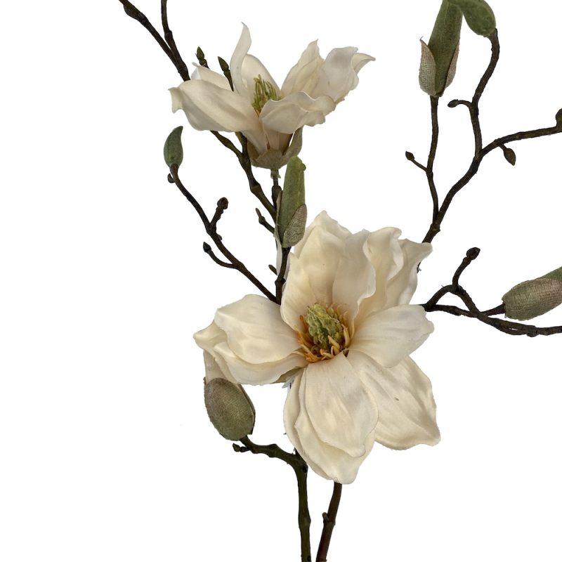 artificial Alice magnolia spray cream