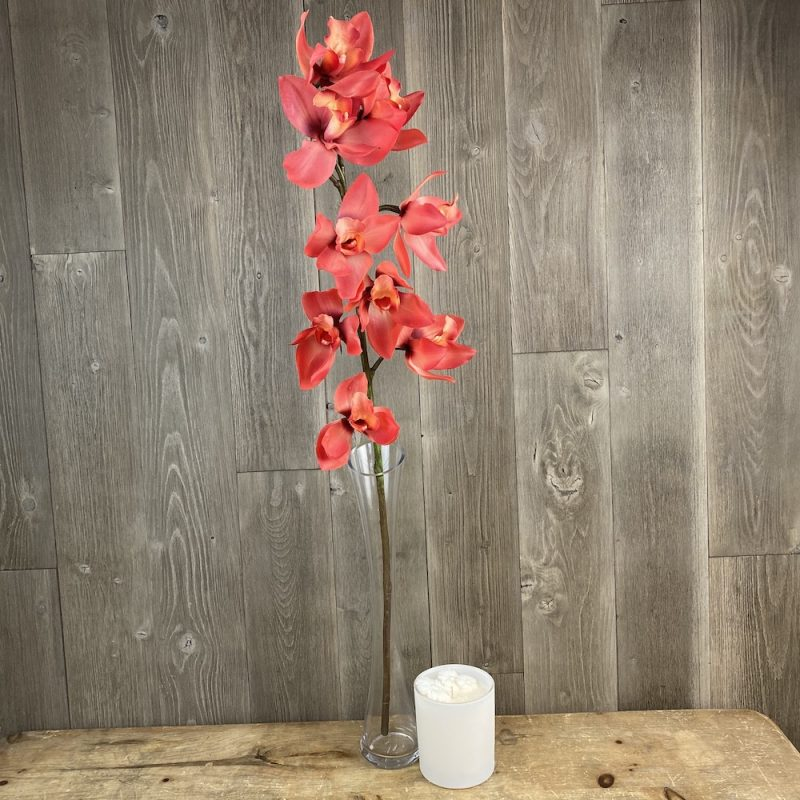 artificial coral orchid stem