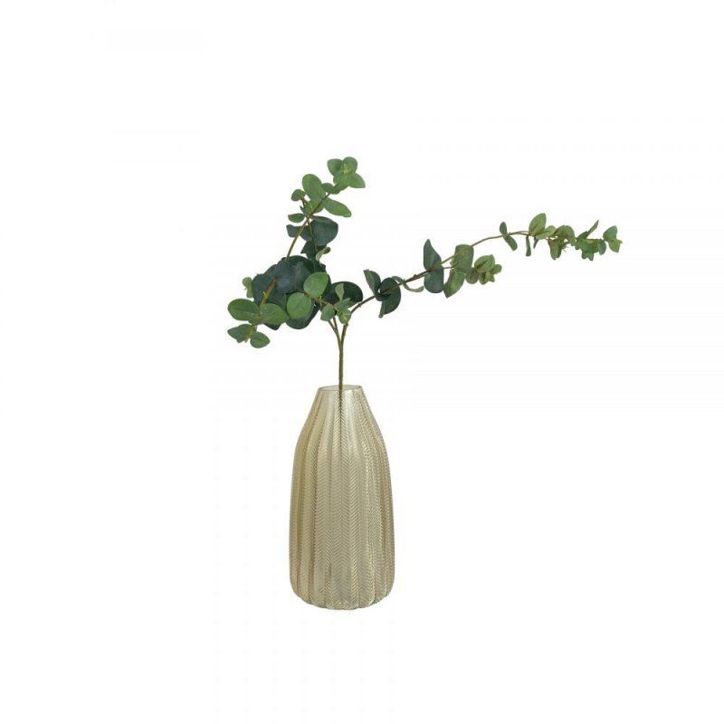 single artificial eucalyptus stem