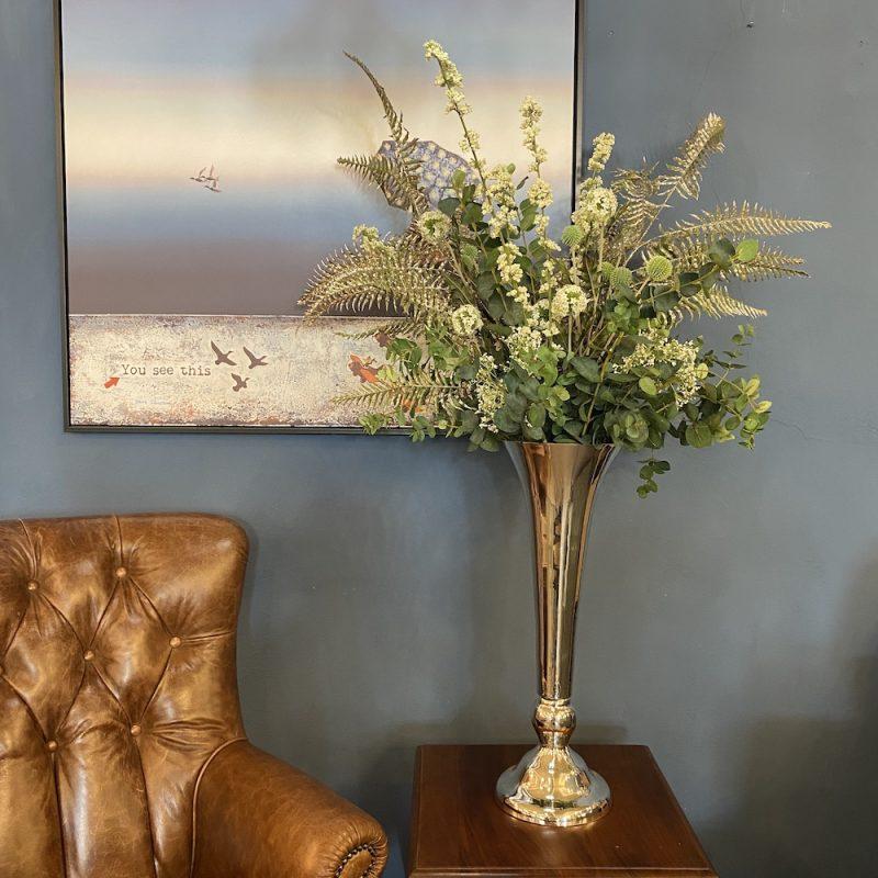 Artificial garden of England flower bouquet arrangement