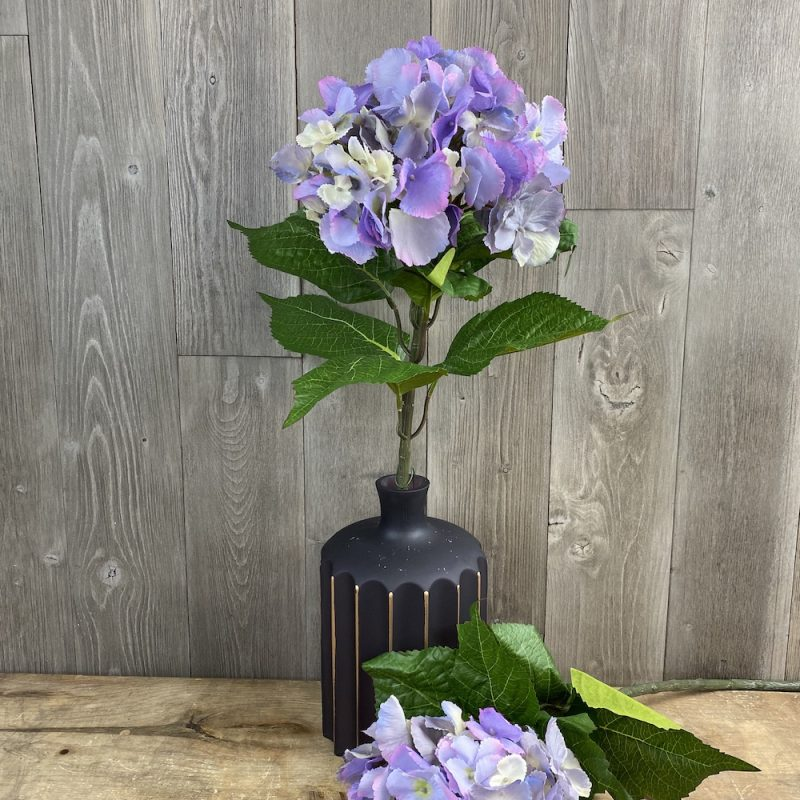 artificial singular stem Lavender Hydrangea