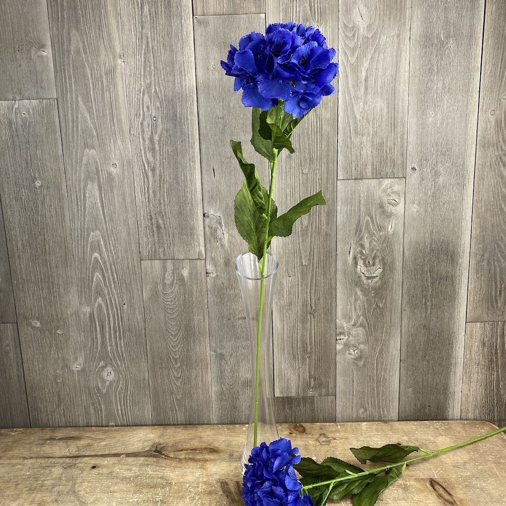 Dark Blue Elsa Hydrangea single stem