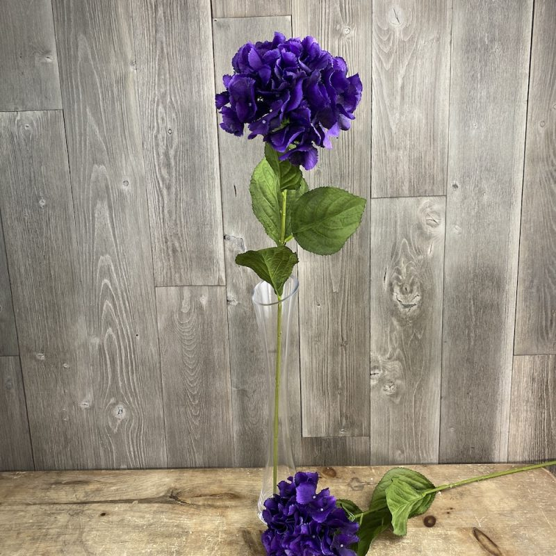 singular artificial Elsa Hydrangea stem