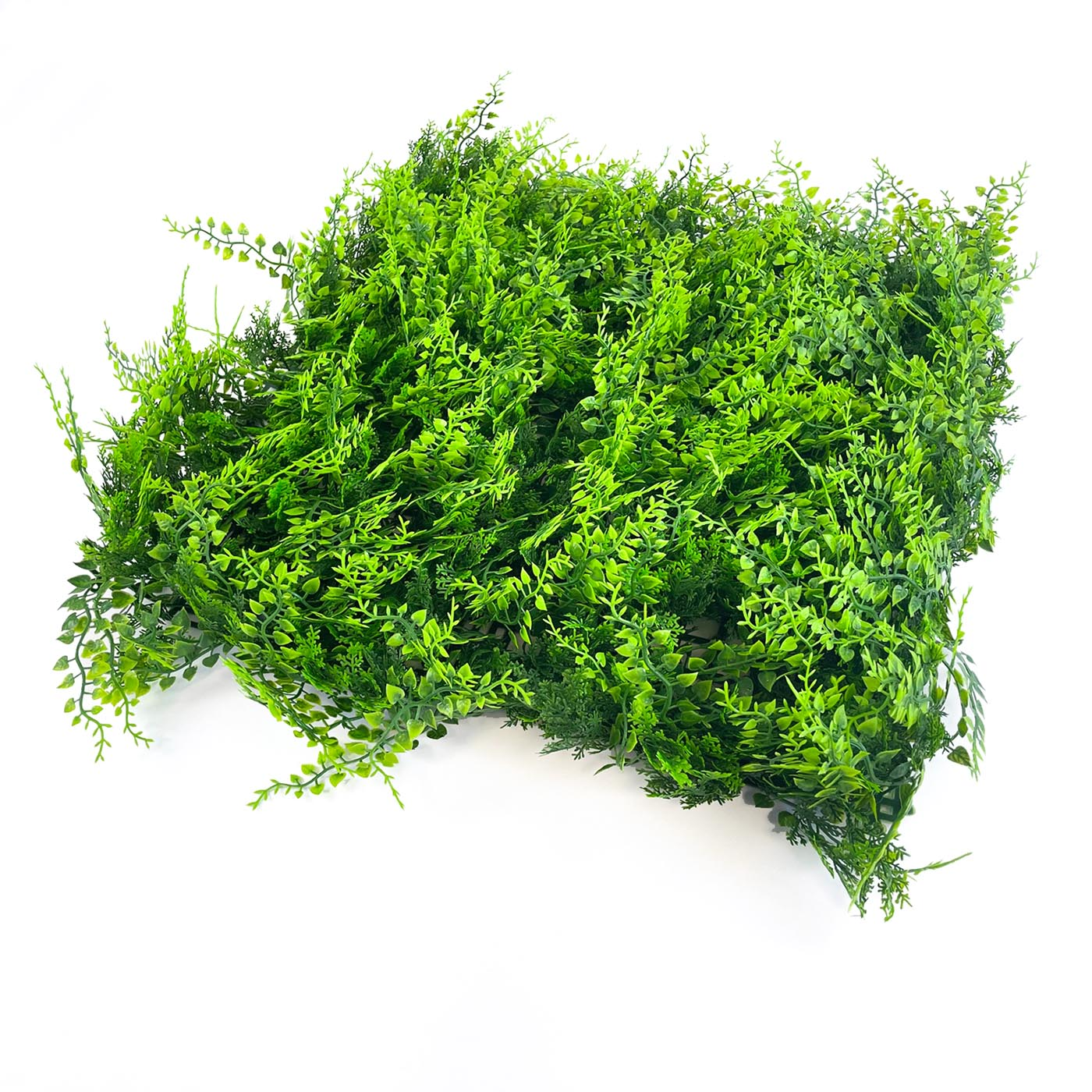 Confirming artificial hedging tile with thick, long green foliage