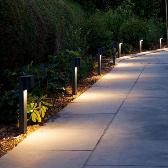 orsay tall pillar outdoor lights