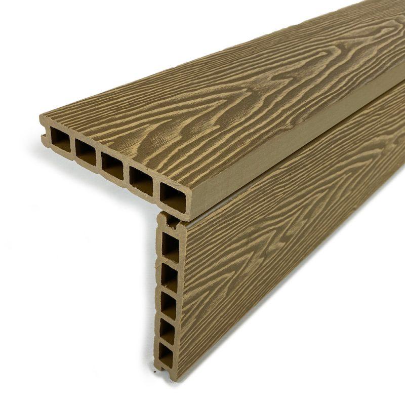 Aged oak square edge boards