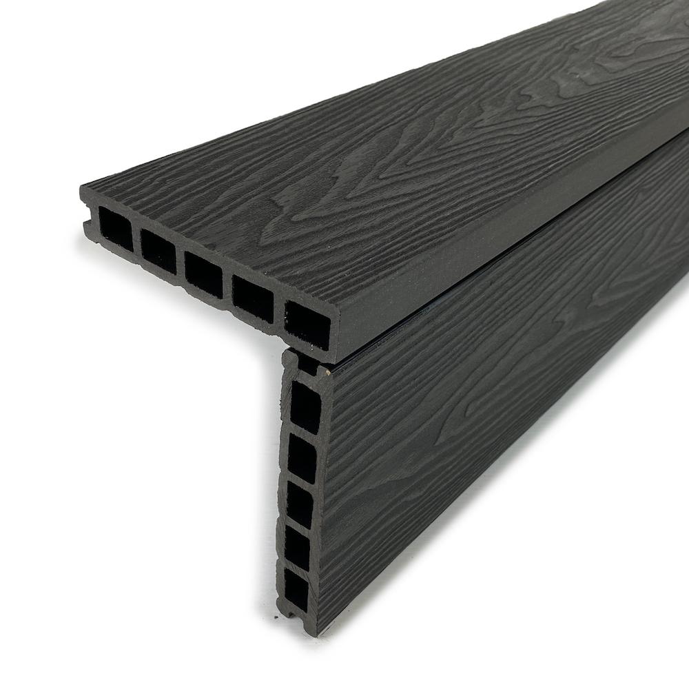 Midnight black square edge boards