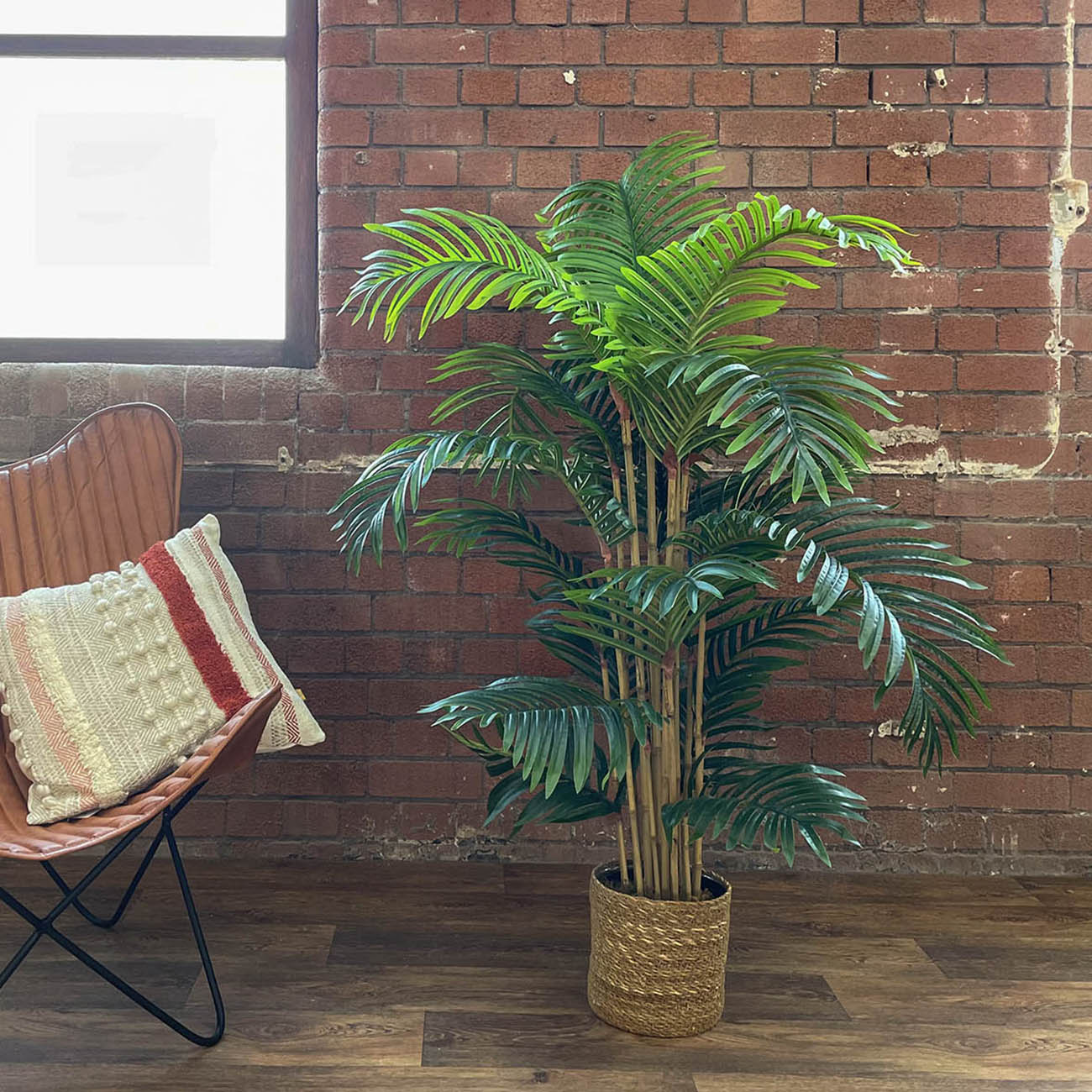 artificial bamboo palm tree