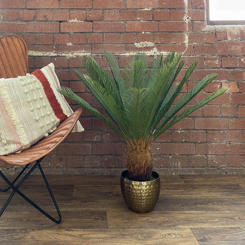 artificial cycas palm plant