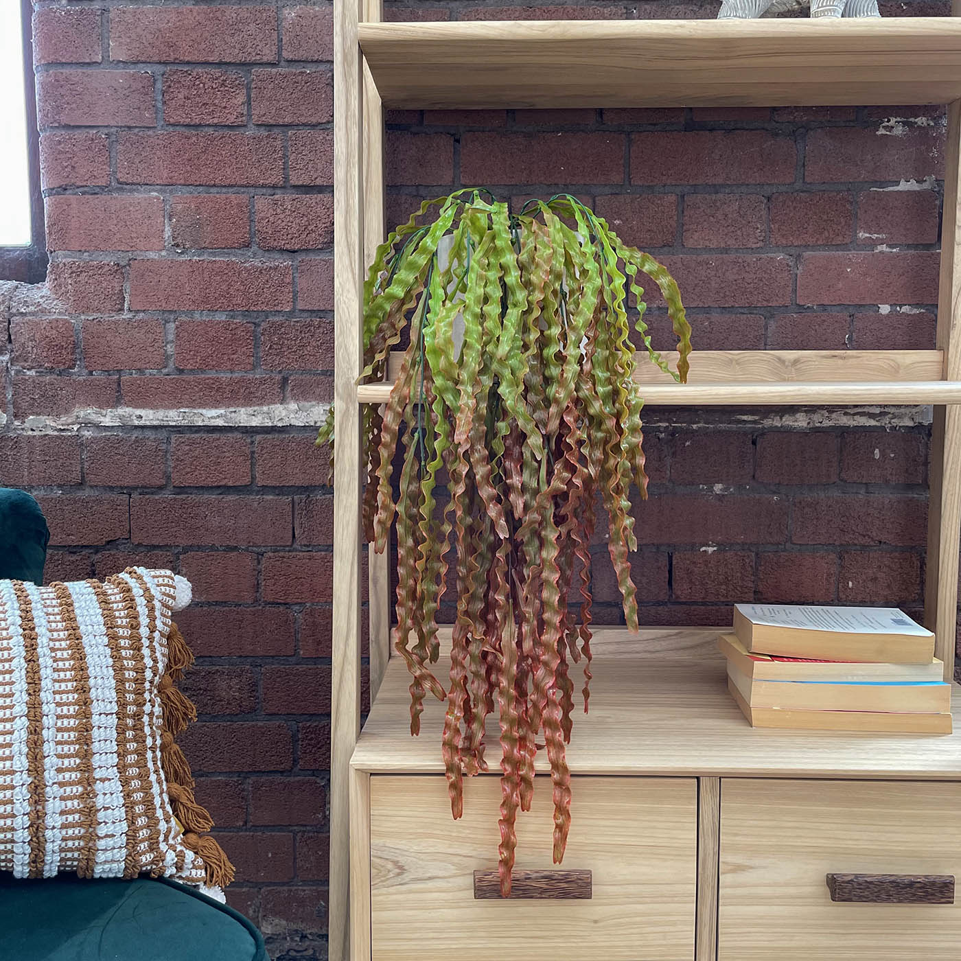 artificial hanging seaweed plant
