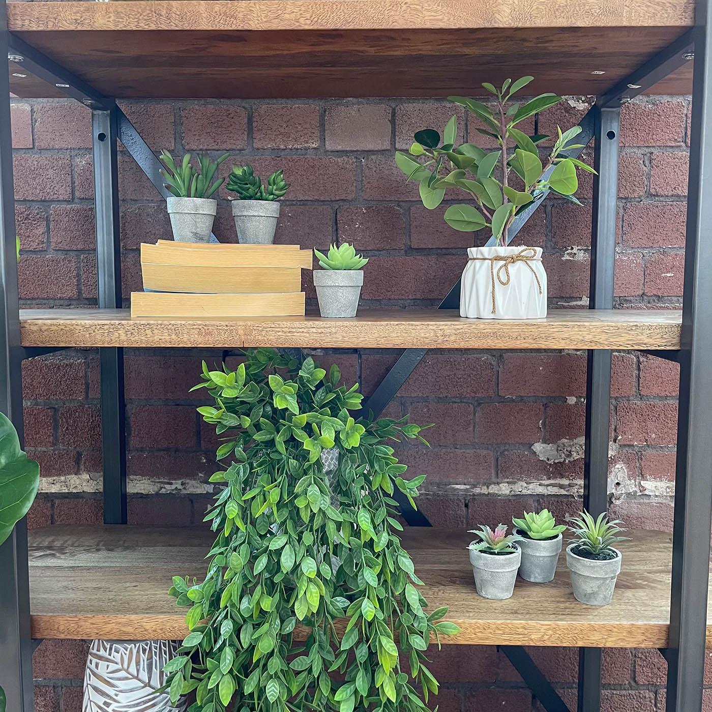 artificial miniature succulent plants