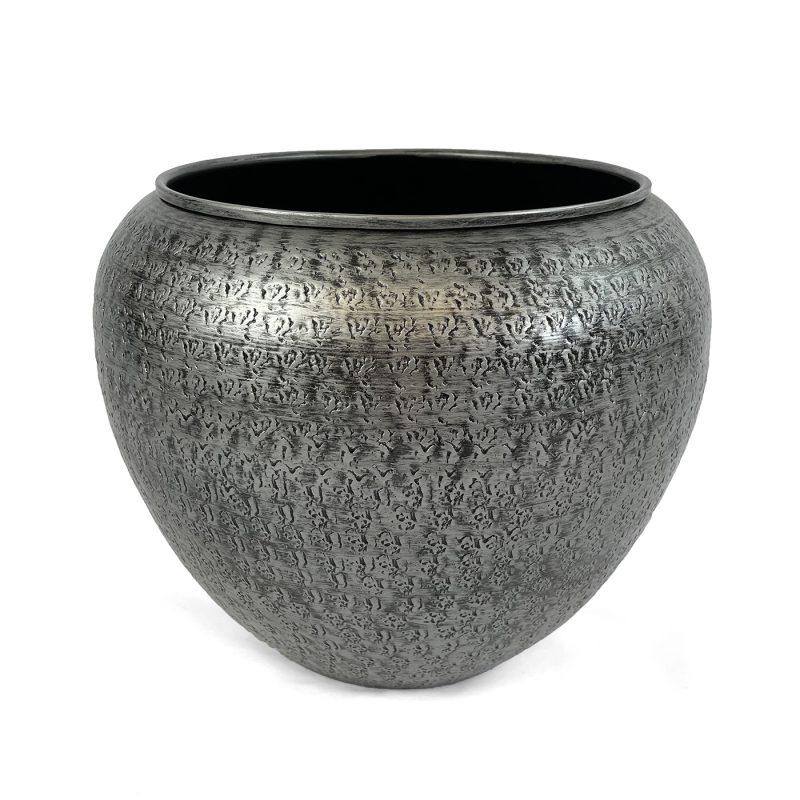 Indoor decorative metal plant pot